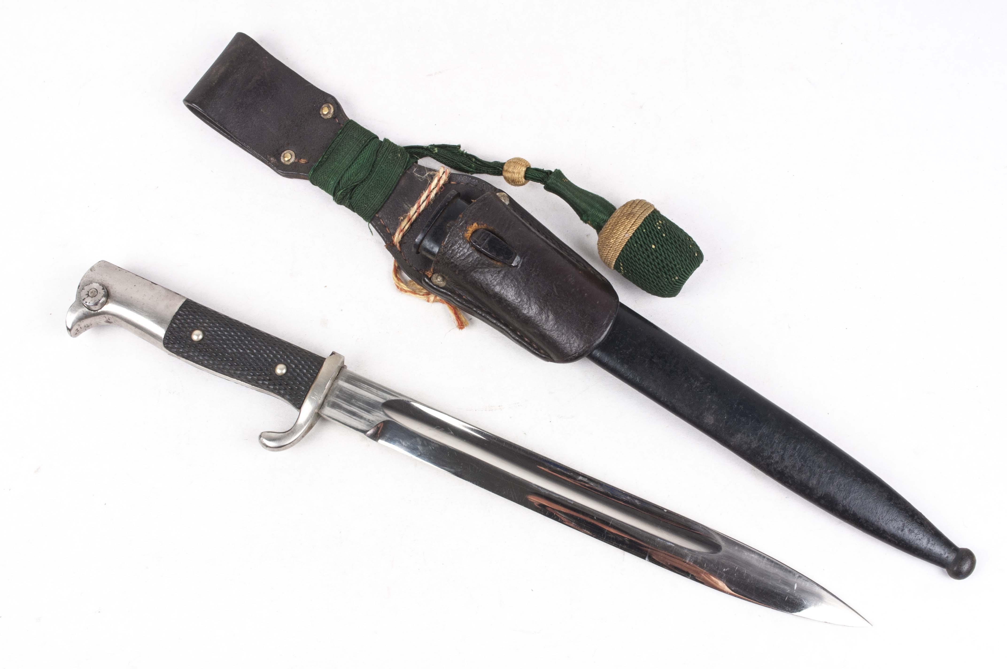 K98 bayonet – Unmarked dress bayonet – fjm44
