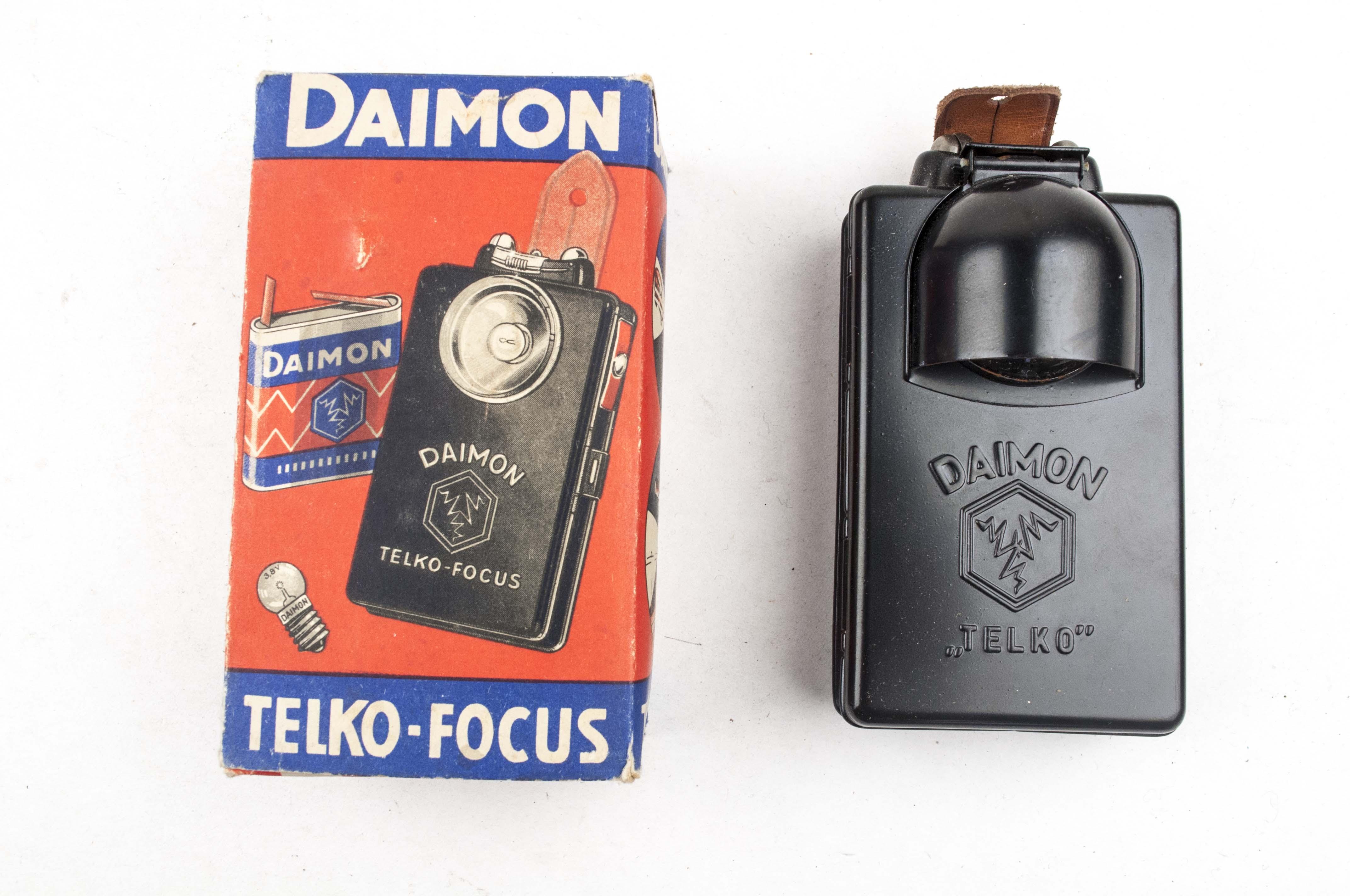 Flashlight Daimon Telko With Original Factory Box Fjm44