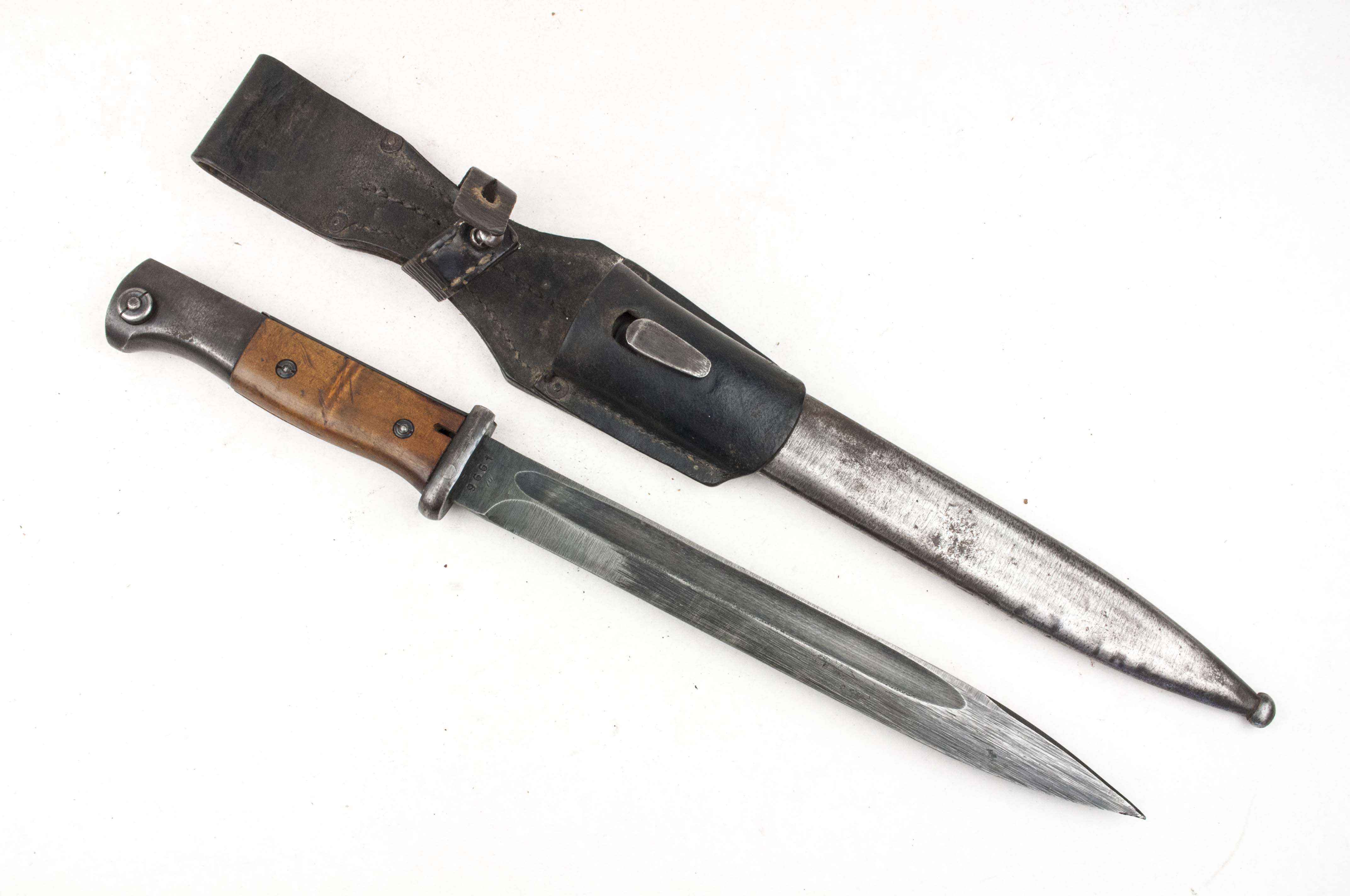Matching K98 bayonet with frog marked cvl 44 – fjm44