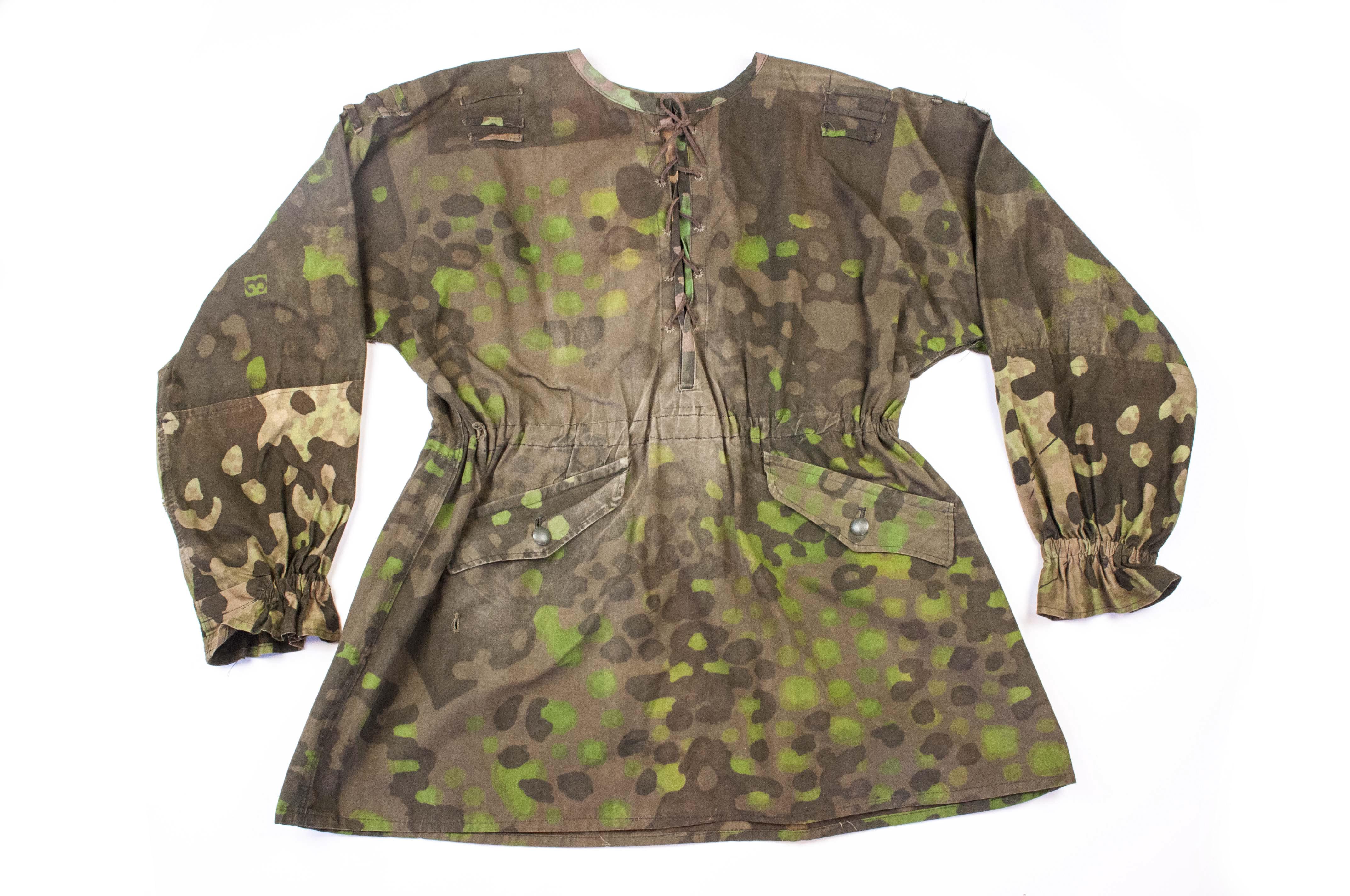 M42 Camouflage Smock Waffen Ss Plane Tree 3 4 Fjm44