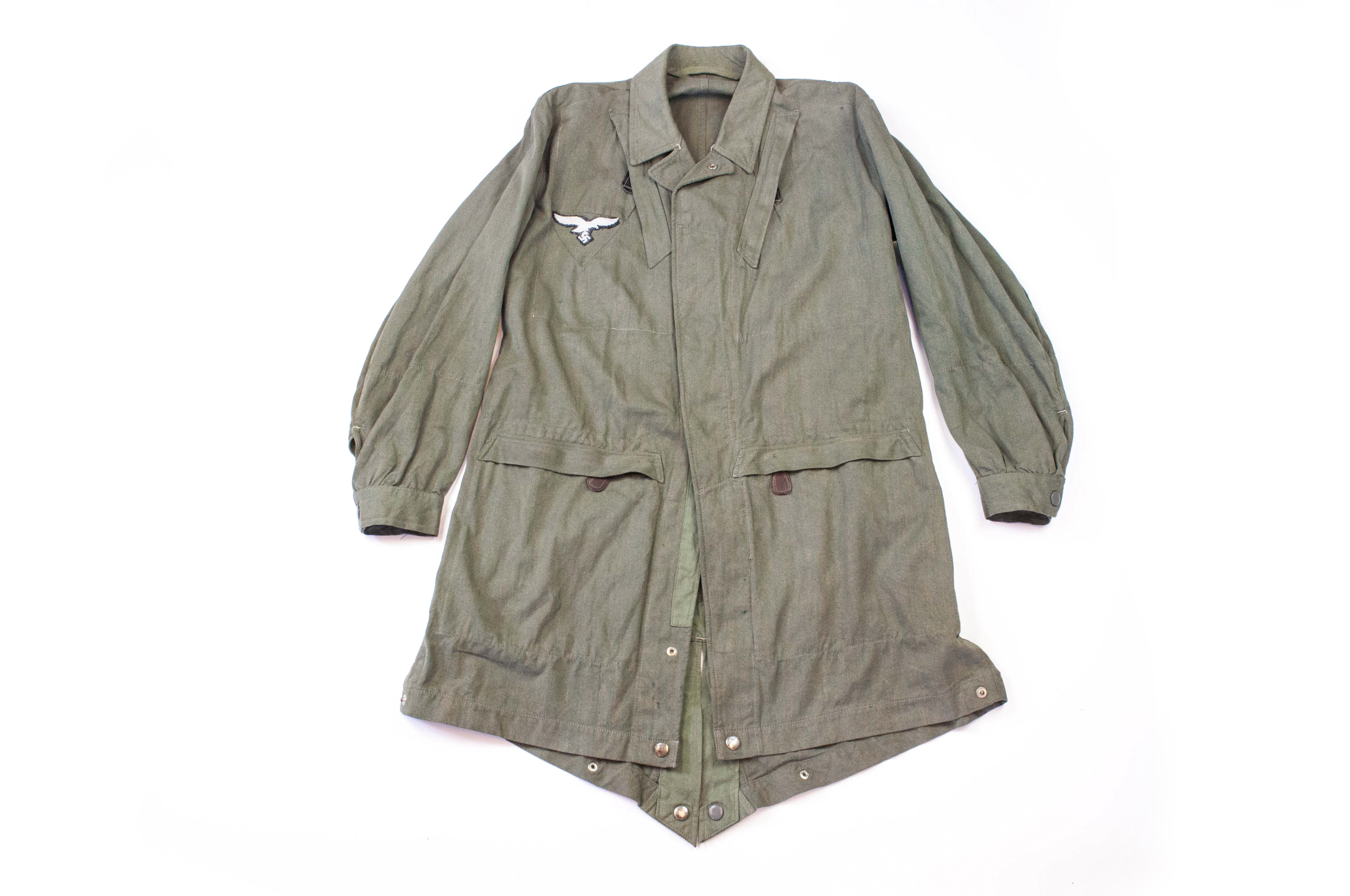 Paratrooper smock - Knochensack - Grünmeliert - Converted
