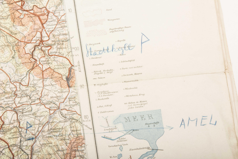 Map Of France 1940.Set Of 5 Unit Marked Maps 8 June 1940 Belgium France